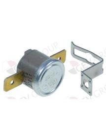 termostato de contacto 120°C 1NC 1polos 10A empalme conector Faston 6,3mm