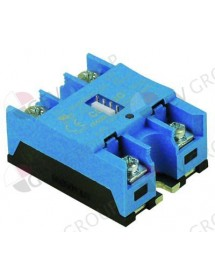 semiconductor de potencia CELDUC fases 1 50 A 24-600V 7,5-25VDC L 58 mm An 46 mm atornillado Rational
