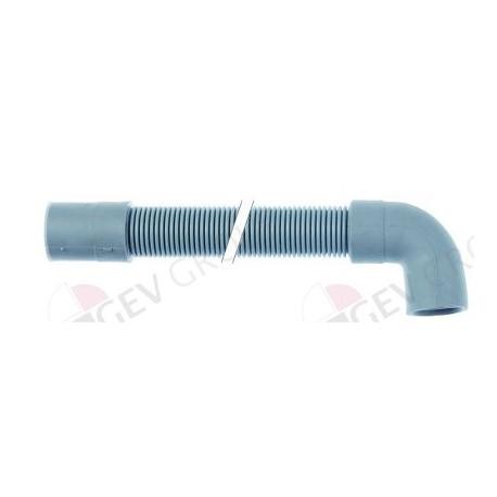 drain hose DN19 L 1500mm straight ø inside 19mm straight ext. ø 24mm elbow ø inside 21mm Hoonved, Lamber, Mach