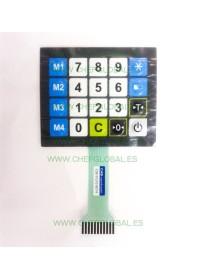 Flat keyboard, 20 keys CAS ERJ balance COE-9121018774
