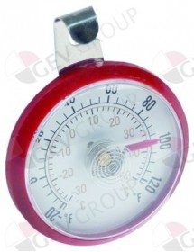 thermometer -30 up to +50°C size ø52mm display analogue Bartscher