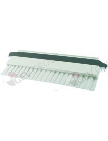 curtain for ice maker W 605mm H 207mm with holder shaft length 540mm shaft ø 6mm ITV