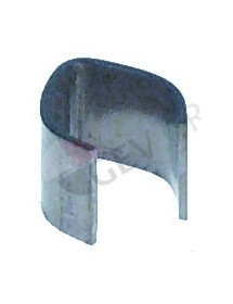 capillary tube clip for pipe ø 8,5mm for circular tube heating elements