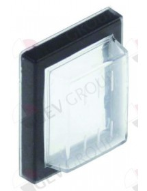 Protective cover for rocker switch internal size 30x22mm