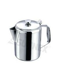 Stainless Steel Coffee Pot With Lid (0'5L / 16 oz)