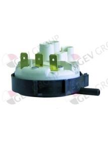 Pressure control pressure range 190/80mbar connection 6mm ø 58mm Comenda
