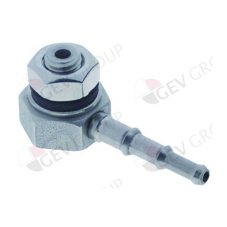 tank inlet stainless steel M10 hose connector ø 4/5/6mm