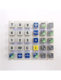 Rubber keyboard CAS Scale