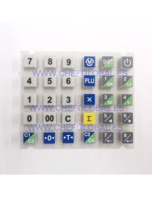 Rubber keyboard CAS Scale