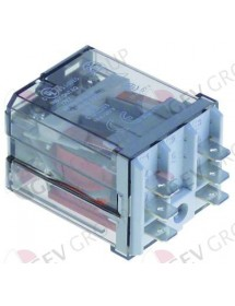 relé enchufable FINDER 230VAC 16A 2NO empalme F6,3 LineaBlanca