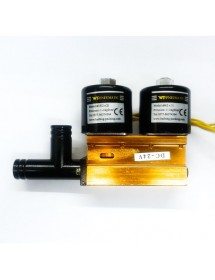 Double Solenoid DC24V Stem DZ-350 DZ-450 Stem 14mm Ø15 (2X2) Stem 13mm Ø6 (2x3) WT Pneumatic Haibing Packing