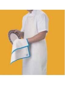 Plastic bib apron ROLLDRAP