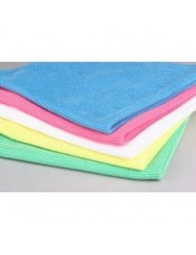 Multipurpose microfibre plus cloth 38x40 cm (12 u)