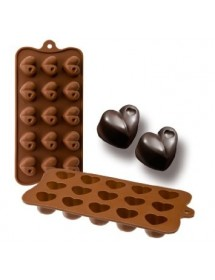 Silicone chocolate pan CORAZON
