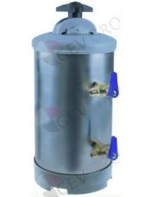 """Descalcificador Manual con 2 válvulas empalme 3/8"""" capacidad del recipiente 8L Electrolux, Sammic"""