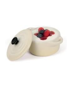 Mini cazuela cerámica beige