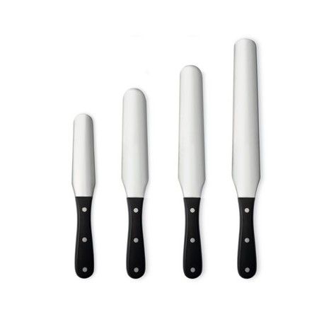 Long St Steel spatula with POM handle
