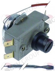 Safety thermostat switch-off temp. 335°C 2-pole 20A probe ø 3mm probe L 200mm Cookmax, Sogeco, Tecnoeka, Unox