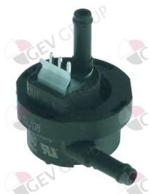 flujómetro tubo ø 6mm plástico conexión enchufable homologación NSF Cookmax, Gicar, N&W, VFA-Express