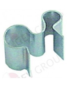 probe clip for probe ø 6mm for pipe ø 8,5mm Qty 1 pcs