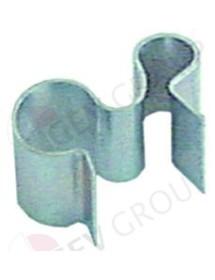 clip para bulbo para bulbo 6mm para tubo ø 8,5mm UE 1 pzs
