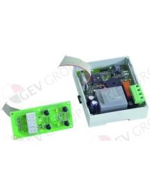 regulador electrónico EVCO 90x110mm 230V AC TC/J margen de medición 0-700°C display 3 dígitos Giorik