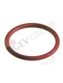 O-ring silicone thickness 3,53mm ID ø 31,34mm Qty 10 pcs