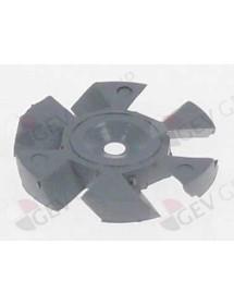 difusor rotacional H 3mm ø 25mm LineaBlanca Interior 6mm A0401180