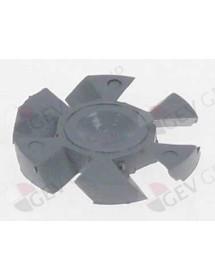 difusor rotacional H 3,5mm ø 25mm LineaBlanca Interior 3mm A040178