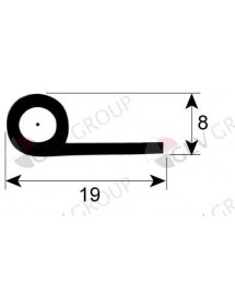 gasket for walk-in fridges profile 9900 Qty supplied by meter rubber