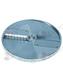 stick slicing disc type DQ10 ø 205mm seat ø 19mm slicing thickness 10mm aluminium Cookmax, Sirman