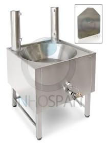 Freidora-fogón a gas ECO para churros