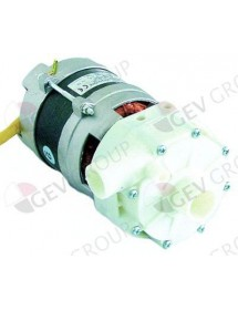 pump inlet ø 28mm outlet ø 26mm type 4213.1500 230 V 1 phase 0,28 kW 0,38 HP Electrolux, Zanussi Alperinox
