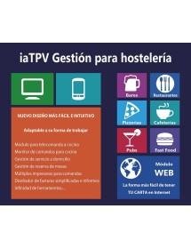 Programa TPV Gestión Hosteleria iaTPV