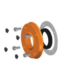 Reten support spring steel retainer Cap Silicone Gasket (4uds) + Screw DIN 912 (4uds) S3300100:00