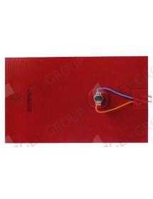 resistencia plana L 290mm An 175mm 500W 230V T máx 150°C con termostato 140°C silicona Electrolux, Zanussi