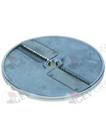 stick slicing disc type DQ4 ø 205 mm seat ø 19 mm slicing thickness 4 mm aluminium Cookmax, Sirman
