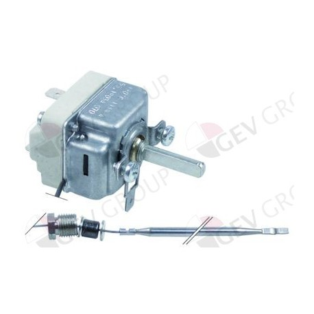 thermostat t.max. 190 °C temperature range 105-190°C 1 -pole 1NO 0,5 A EGO, Elframo, Repagas