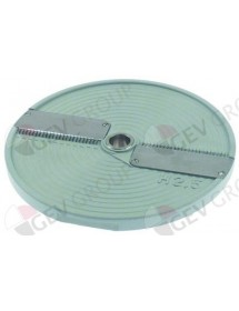 stick slicing disc type DISCOH2.5 ø 205 mm seat ø 19 mm slicing thickness 2.5x2.5mm fimar
