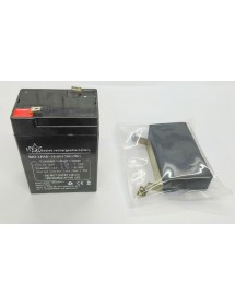 Batería Plomo Kit Balanza CAS Incluye Batería, 2 tornillos, goma soporte y pletina de sujeción.