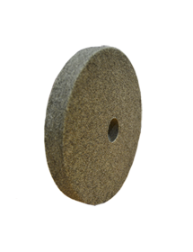 Felt polishing discs 200x25x32mm