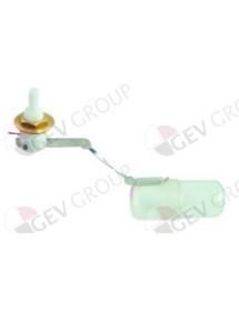 intake valve thread M14x1 L 190 mm ø 30 mm connection ø 10 mm ITV DELTA 5404