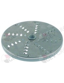 grating disc type DISCOZ7 ø 205 mm slicing thickness 7 mm plastic/metal Fimar