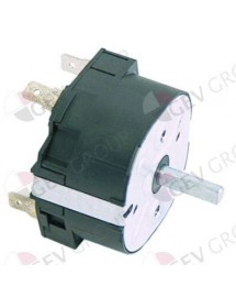 Timer M2 2 -pole operation time 15min impulse mechanical 2NO at 250V 16 A Dihr, Electrolux, Fiamma, Forved, Kromo, Silanos,