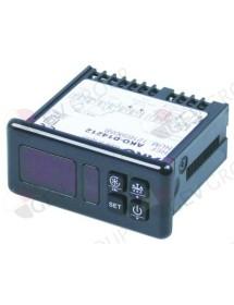 Regulador electrónico AKO tipo AKO-D14212 71x29mm aliment. 12V tensión AC/DC NTC salidas de relé 2