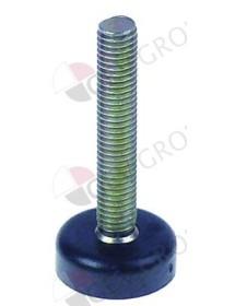 equipment foot thread M8 thread L 45 mm H 8 mm ø 24 mm Qty 1 pcs