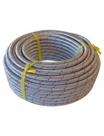 Braided Metal tube 9x15mm Metro Butane gas