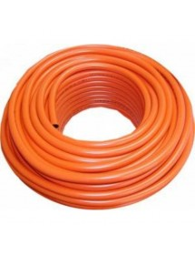 Plasticized PVC and nitrile rubber tubing dual layer. 9 x 15 mm diameter. Meter