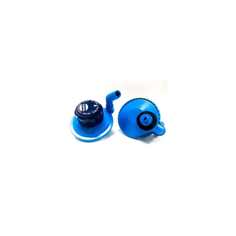 Regulador de gas 29 mbr botellas azules camping gas rcg - Botella camping gas ...