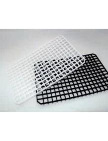 Rejilla de plástico alimentario para platos y vasos